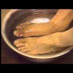 電解水による壊疽の治療風景 ph 3.5 で修復する